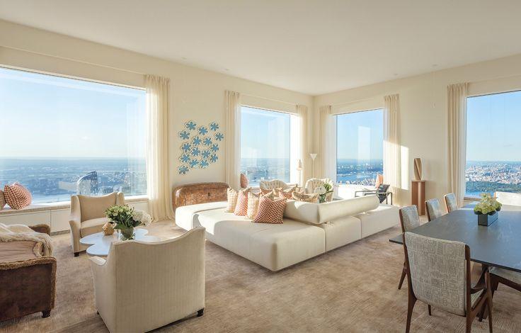 499 Park Avenue - Interior - Living Room