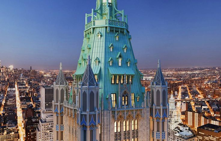 The Woolworth Tower Residences - Exterior View - Building View of the Rooftop
