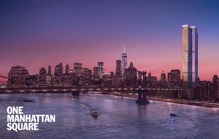One Manhattan Square - Skyline - Rendering