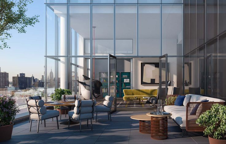 150 Rivington - Terrace View Rendering