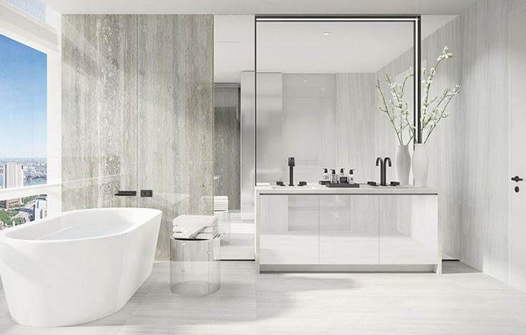 111 Murray Street Interior - Bathroom Rendering