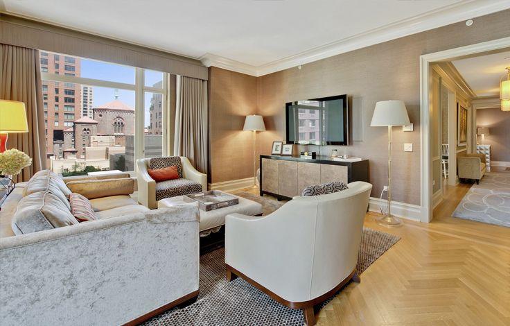 15 Central Park West - Interior - Living Room