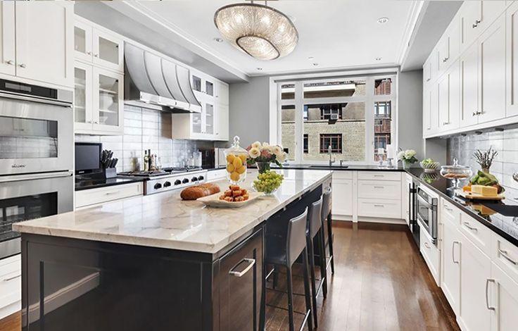15 Central Park West - Interior Kitchen