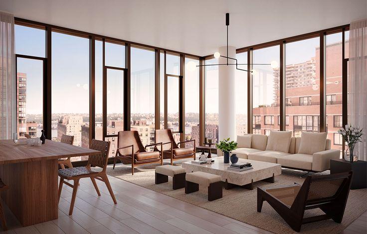 Dahlia Building - Living Room
