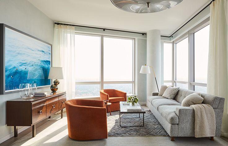 Brooklyn Point - Living Room