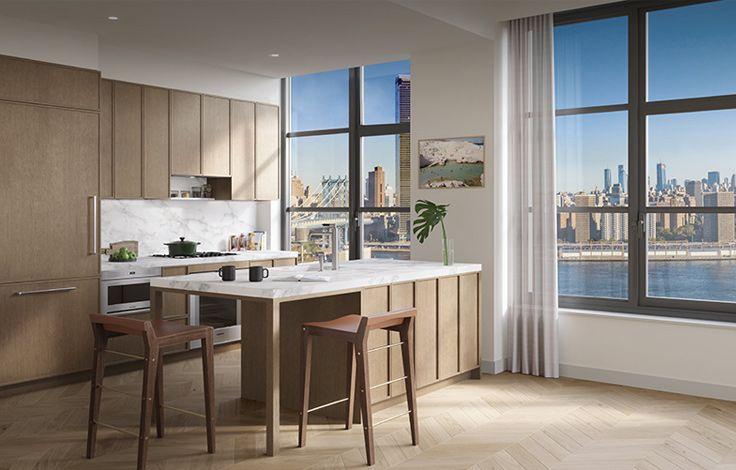 Front & York  - Interior View - Kitchen