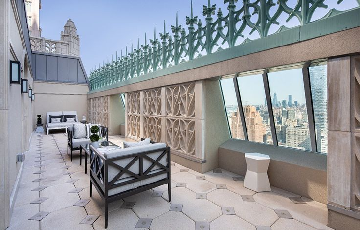 The Woolworth Tower Residences - Exterior View - Terrace