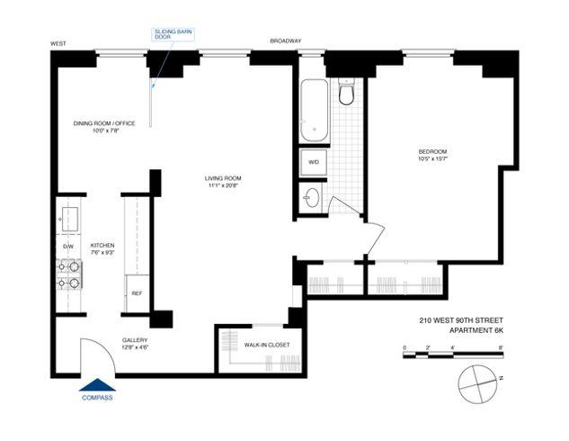 Astor Court 210 West 90th Street Unit 4k 1 Bed Apt For Sale For 850 000 Cityrealty