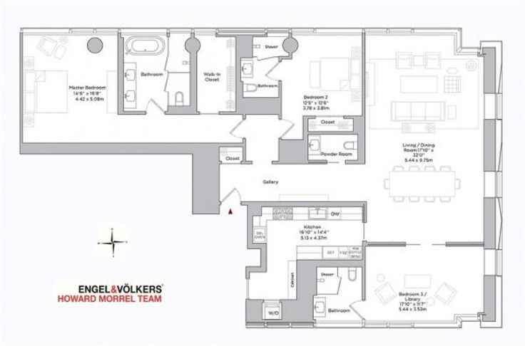 Baccarat Hotel Residences 20 West 53rd Street Unit 999 3 Bed Apt For Sale For 17 000 000 Cityrealty