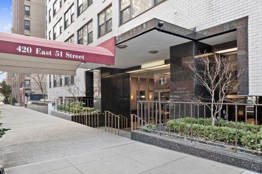 420 Beekman Hill, 420 East 51st Street, #6E