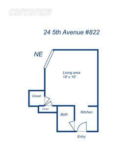24 Fifth Avenue, #822