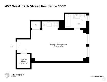 Addison Hall, 457 West 57th Street, #1512