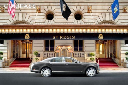 The St. Regis, 2 East 55th Street, #808