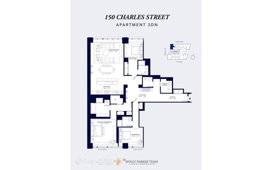 150 Charles Street, #3DN