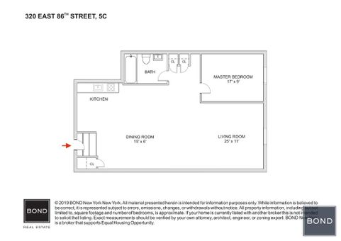 320 East 86th Street, #5C