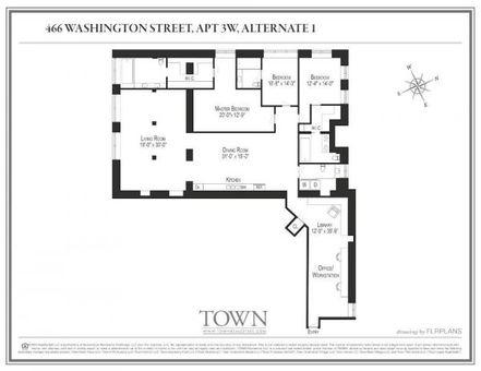 466 Washington Street, #3W
