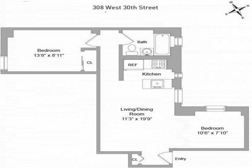 The Irvin House, 308 West 30th Street, #10F