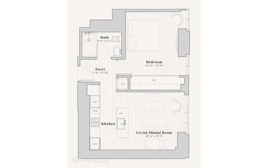 The Beekman Residences, 5 Beekman Street, #18C