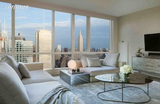 Manhattan View at MiMa, 460 West 42nd Street, #PH4B