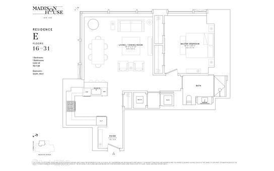 Madison House, 15 East 30th Street, #29E