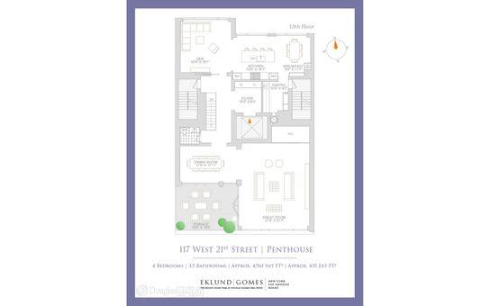The Twenty 1, 117 West 21st Street, #PHB