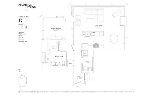Madison House, 15 East 30th Street, #41B