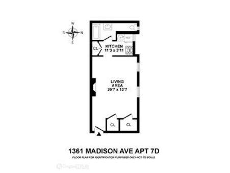 Madison Court, 1361 Madison Avenue, #7D