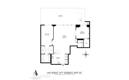 Village Green West, 245 West 14th Street, #2A