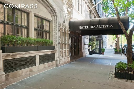Hotel des Artistes, 1 West 67th Street, #914