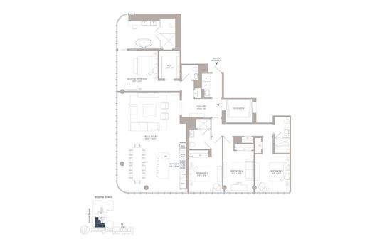 565 Broome SoHo, 565 Broome Street, #S24A
