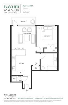 Bayard Manor, 135 Bayard Street, #2B