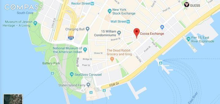 Cocoa Exchange, 1 Wall Street Court, #406