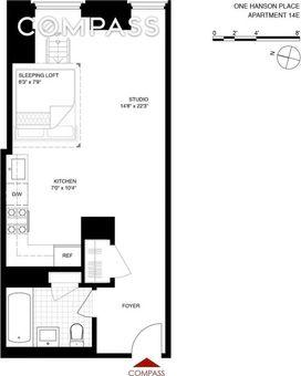 One Hanson Place, 1 Hanson Place, #14E