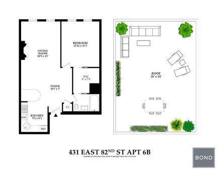 431 East 82nd Street, #6B