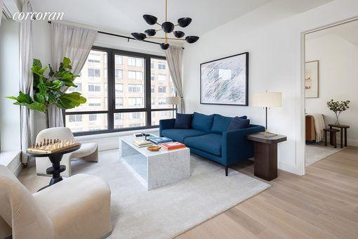 Parker West Condominium, 214 West 72nd Street, #FL12