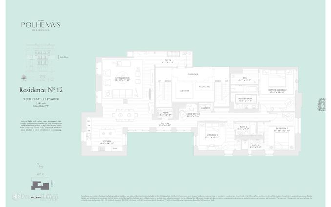 Polhemus Residences, 100 Amity Street