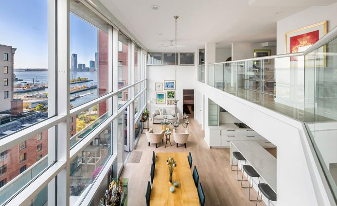 The Glass Condominium, 88 Laight Street